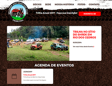Site do Belchior Jeep Clube